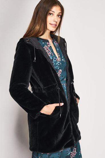 e8291459a23969 Mery Mode Abbigliamento. Parka Gaudì donna in ecopelliccia reversibile