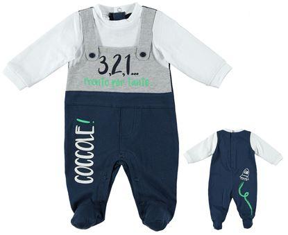 Immagine di Tutina intera neonato con piede iDO art. 4U015