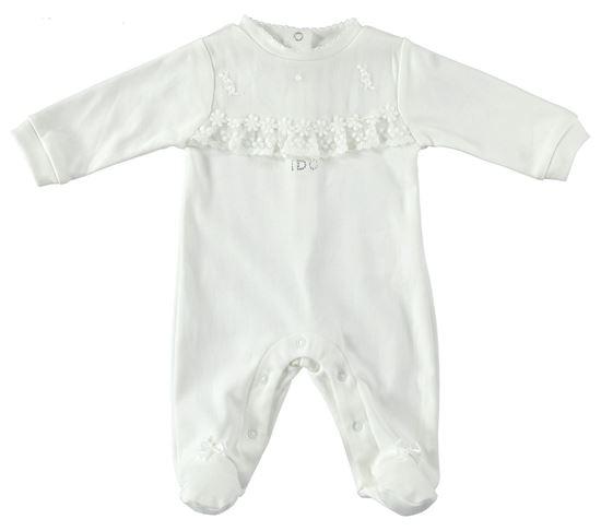 Immagine di Tutina intera neonata con piede iDO art. 4U118
