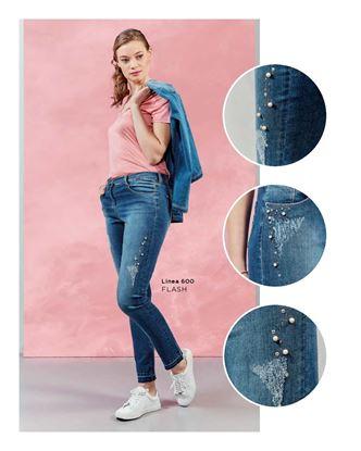 Immagine di jeans 5 tasche Iber mod. flash