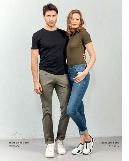 Immagine di jeans donna 5 tasche Iber mod. friend