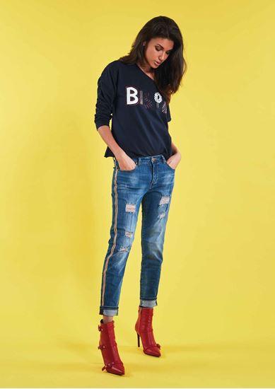 Immagine di Jeans girl friend con catena di Gaudi art. 911BD26026