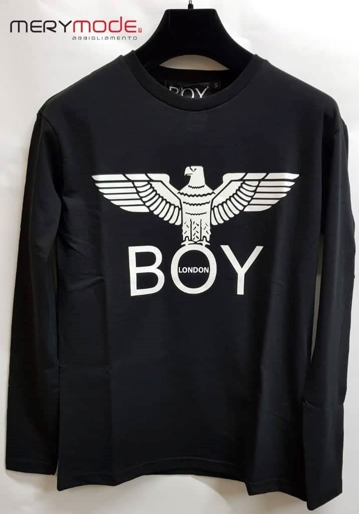 uk availability b5f79 6a380 T-shirt manica lunga unisex donna uomo Boy London art. BLD2046