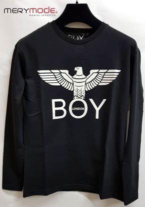 Immagine di T-shirt manica lunga unisex donna uomo Boy London art. BLD2046