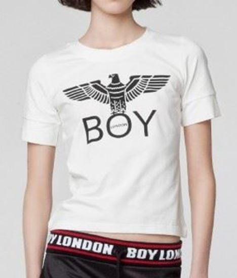 Immagine di T-shirt manica corta donna Boy London art. BLD2050/BLD1511