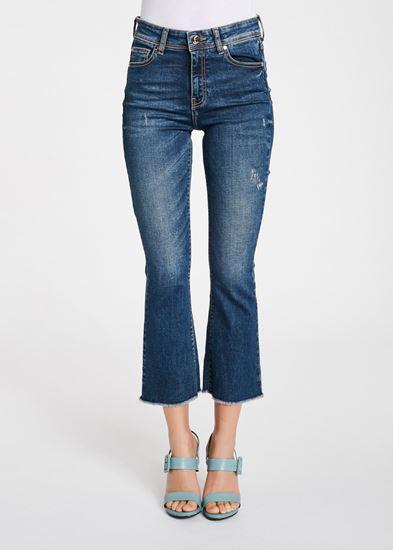 Immagine di Jeans cropped in denim di Gaudi  mod. 011BD26013
