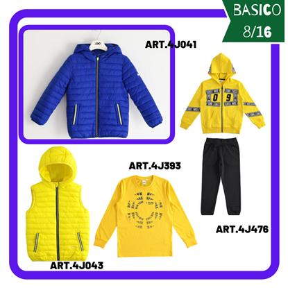"""Immagine di """"Outfit RAGAZZO BASICO"""" di iDO 8/16 anni  primavera/estate"""