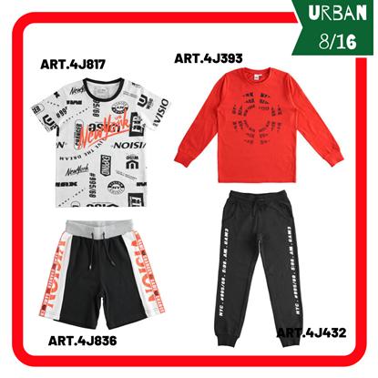 """Immagine di """"Outfit RAGAZZO URBAN"""" di iDO 8/16 anni  primavera/estate"""