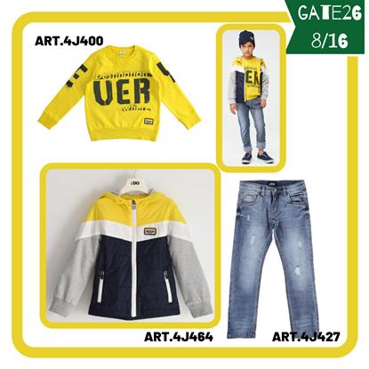 """Immagine di """"Outfit RAGAZZO GATE26"""" di iDO 8/16 anni  primavera/estate"""