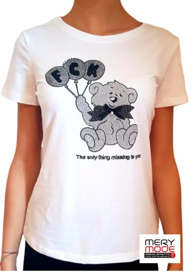 Immagine di t-shirt donna MentaFredda art. orsetto