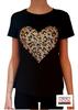 Immagine di T-shirt elasticizzata di Menta fredda art. cuore