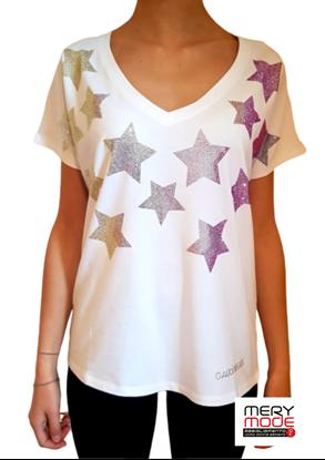 Immagine di T-shirt donna stelle di Gaudi art.011bd64007