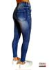 Immagine di Jeans donna skinny Stilosella con strass art. stilostrass