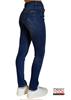 Immagine di Jeans donna strass rainbow di Mimi Mua Firenze art. jre9-2046