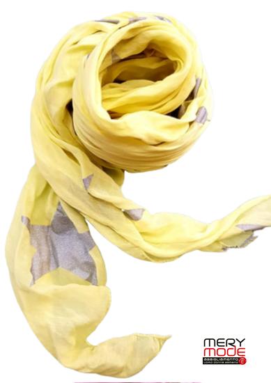 Immagine di Foulard fantasia cotone e seta art.20
