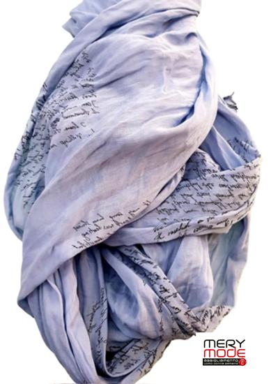 Immagine di Foulard fantasia cotone e seta art.22