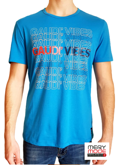 Immagine di T-shirt Uomo Gaudì con manica corta art.011BU64033