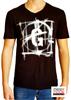 Immagine di T-shirt Uomo Gaudì collo a v con manica corta art.011BU64109