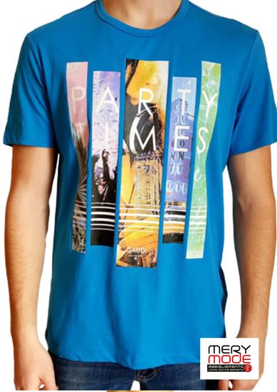 Immagine di T-shirt Uomo Gaudì girocollo  con manica corta art.011BU64028