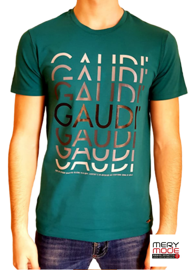 Immagine di T-shirt Uomo Gaudì con manica corta art.011BU64068