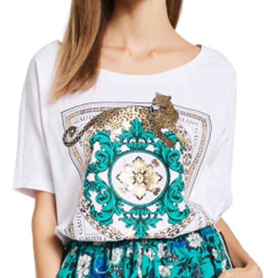 Immagine di T-shirt donna girocollo  Gaudi art. 011BD64010