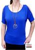 Immagine di T-shirt  donna spalla scoperta   art.M68B