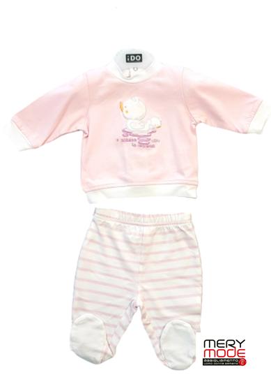 Immagine di Tutina 2 pezzi neonata leggera con piede iDO art.4g049