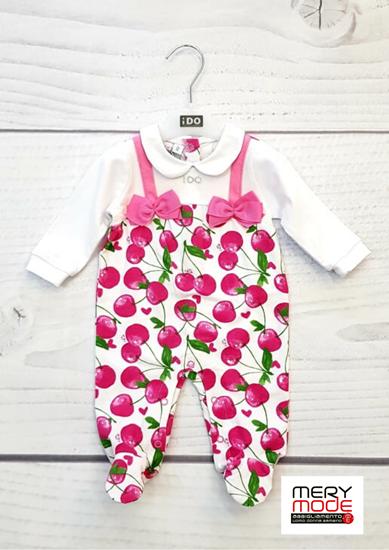 Immagine di Tutina intera neonata leggera con piede iDO art.4w147
