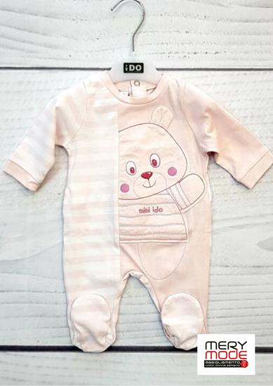 Immagine di Tutina intera neonata leggera con piede iDO art.4I139