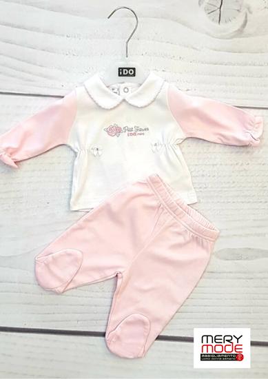 Immagine di Tutina 2 pezzi neonata leggera con piede iDO art.4i083