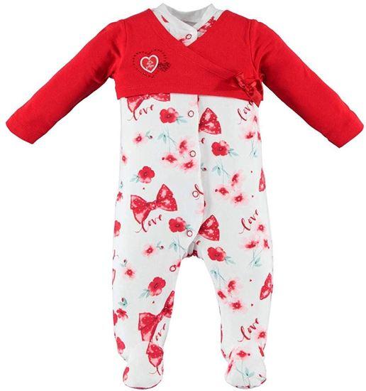 Immagine di Tutina intera neonata leggera con piede iDO art.4w149