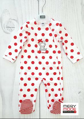 Immagine di Tutina intera neonata leggera con piede iDO art.4j118