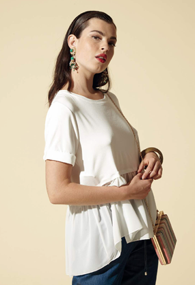 Immagine di T-shirt donna girocollo  Griffai art. ped3111
