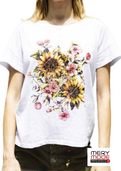 Immagine di T-shirt donna cotone leggero di Trez art. M42601