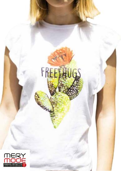 Immagine di T-shirt donna cotone leggero di Trez art. M42600