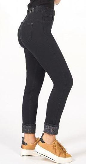 Immagine di Jeans capri  senza apertura 5 tasche donna di Iber Jeans art. ondine