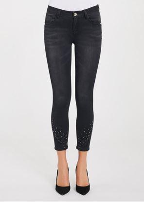 Immagine di Jeans Gaudi skinny cropped nero art. 021BD26019