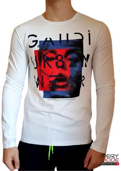 Immagine di T-shirt uomo Gaudi elasticizzata  art. 021GU64041