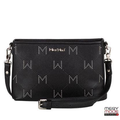 Immagine di Borsa a tracolla con M in borchie Mimì Muà Firenze art. M8-G199660