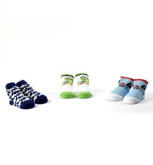 Immagine di Confezione tre calzine neonato cotone  iDO art 42910