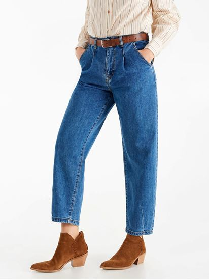 Immagine di Jeans vita alta gamba dritta Rinascimento  art. CFC0102232003