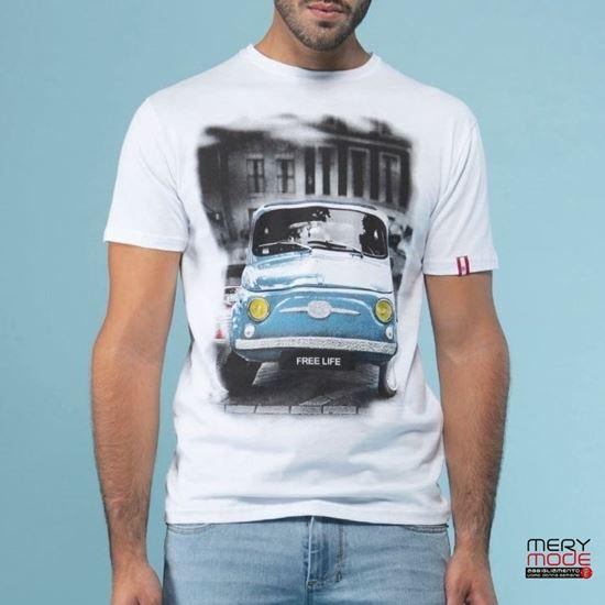 Immagine di T-shirt Uomo Griffai girocollo  con manica corta art. UGP199