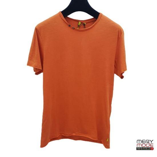 Immagine di T-shirt uomo girocollo bottoni Trez art. M43810