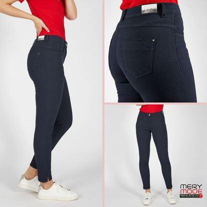 Immagine di Pantalone 5 tasche linea 600 cotone Iber art. STRAW