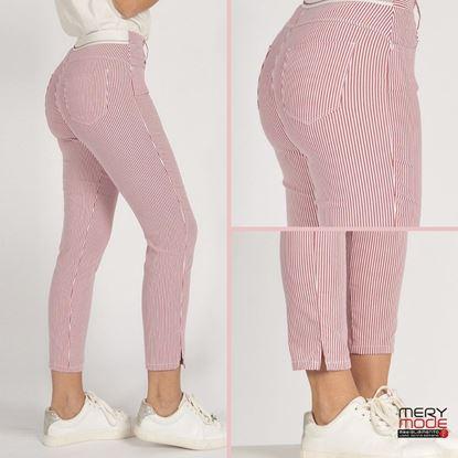 Immagine di Pantalone 5 tasche mod. capri cotone Iber art. LENNY