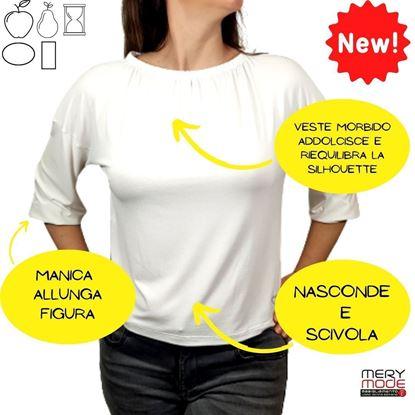 Immagine di T-shirt donna Viscosette art. E313