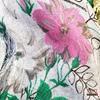 Immagine di Foulard fantasia in bamboo art. 808  fiori