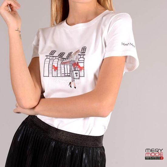 Immagine di T-shirt donna Mimì Muà Firenze art. SFAC-1209
