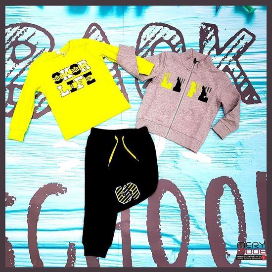 Immagine di Completo  bimbo 2/7 anni back to school ido art. 43443-43440-43470